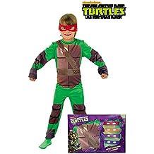 Rubie`s - Disfraz infantil de Tortugas Ninja en caja (888261-M)