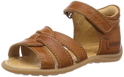 Bisgaard Baby Mädchen 71236.119 Sandalen, Braun (Cognac 505), 23 EU