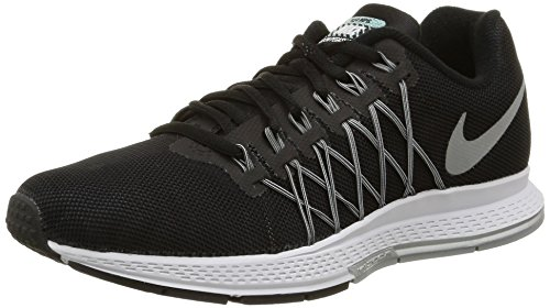 Nike Wmns Air Zoom Pegasus 32 Flash Zapatillas de Running, Mujer, Negro, 38