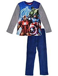 The Avengers Marvel Niños Polar Fleece Winter Pyjamas