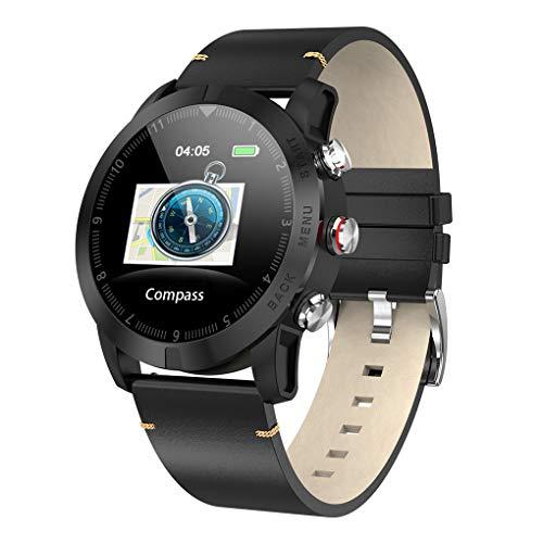 S10 Smart Watch 1.3 Zoll-Screen-IP68 wasserdicht Sport-Uhr-Herzfrequenzsensor 350mAh Batterie-Eignung-Band (Uhr Gesundheit-band)