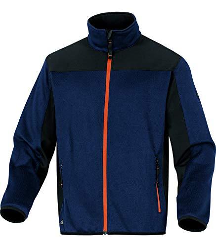 Delta Plus BEAVEMOTM Jacke aus Polyester, Marineblau-Orange, M, 10 Stück -