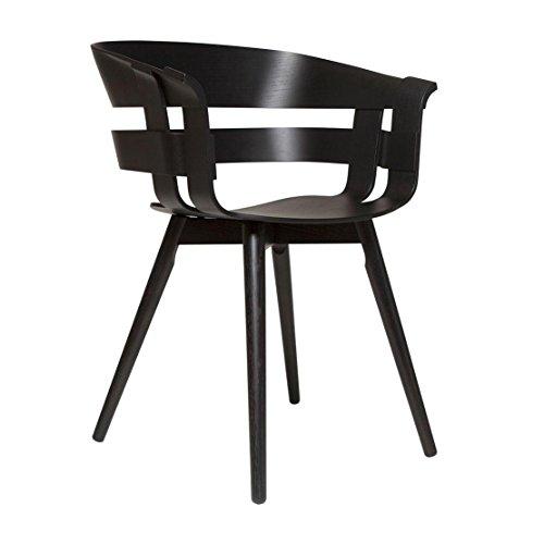 design house stockholm Wick - Fauteuil Support en Bois Noir