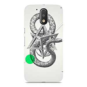 Hamee Designer Printed Hard Back Case Cover for Lenovo Vibe K4 Note Design 382