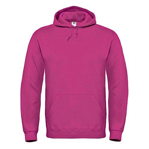 B&C - Kapuzen-Sweatshirt 'ID.003' Fuchsia