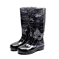 Mens Wellington Boots,Rubber Shoes,Rubber Thickening,Rain Boots,Camouflage,Abrasion Resistant,Rain Boots,Rubber Shoes,Fishing Shoes,Easy to Clean,Best for Wet Weather