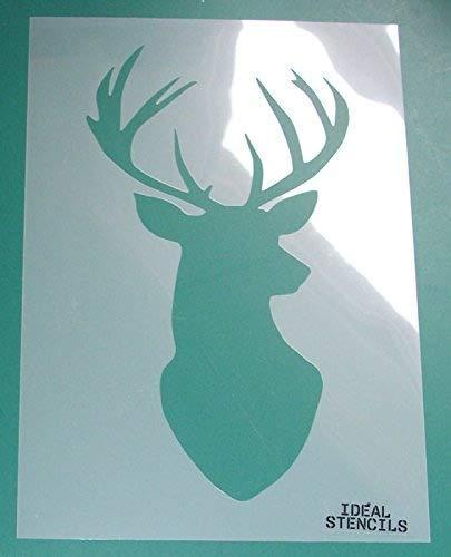 e Schablone, Decor Art Craft wiederverwendbar Malerei, ideal Schablonen, plastik, S/ 6 x 10 inches ()