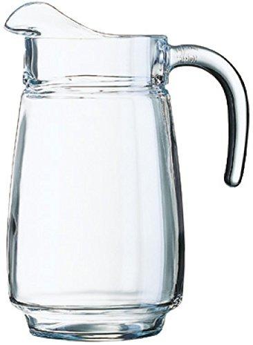 Arcoroc Tivoli Wasserkrug Saftkrug, Glas, Transparent, Krug 2,3 Liter (Pas-scheibe)