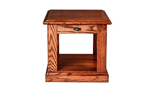 Forest Designs Cottage Drei Schublade Nachttisch mit Tablett sowie einen, holz, Unfinished Oak, 21