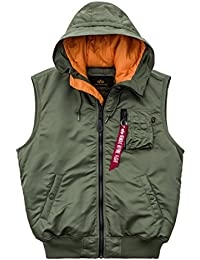 Alpha Industries Hooded MA-1 Vest