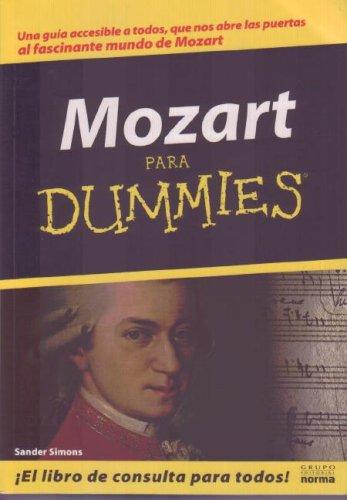 Descargar Libro Mozart Para Dummies de Sander Simons