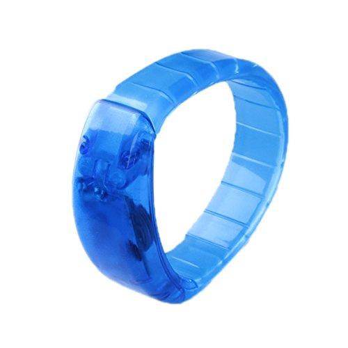 Cool Sound aktiviert LEDs, Leuchtendes Armband, für Party/Disco/Bar (Sound Armband Aktiviert)