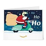 Amazon.de Gutschein zum Drucken (Scooter Santa)