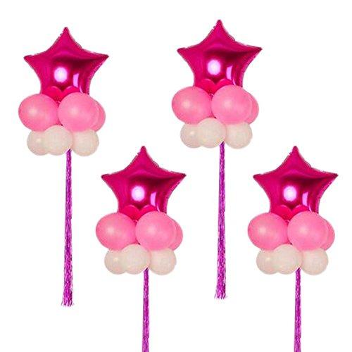 ppen Latex Geburtstag Herzförmige Star Hochzeit Party Ballons (Partei-versorgung-großhandel)