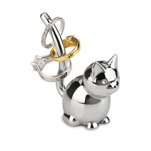 Umbra 299212-158 Zoola Cat Ring Holder, chrome