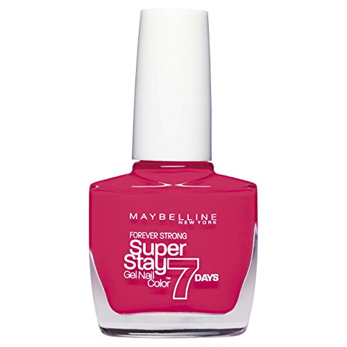 Maybelline New York Superstay 7 Days Smalto Effetto Gel, 490 Hot Salsa