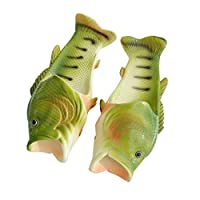 Slippers Summer, Familizo Creative Unisex Adult & Children Fish Shower Slippers Cute Leisure Peep Toe Flip Flops Mixed Funny Beach Shoes Casual Fashion Sandals ...