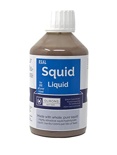 Ourons Squid Hydro Attractant Liquid For Carp Fishing Baits 250ml