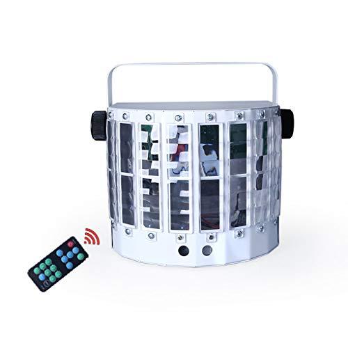 LED Butterfly Stage Laser Light 9 Farbblitzeffekt 13 Modi mit Fernbedienung Ton aktivieren Bühnenlampen - Laser Dj Lights