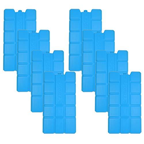 NEMT 8 x Kühlakku 750 ml Kühlelemente für die Kühltasche oder Kühlbox Kühlakku