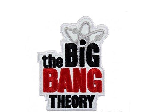 Patch Big Bang Theory Patch Aufnäher Aufbügler bestickt cm 7,5x 5,5Replica