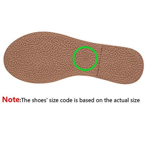 FNKDOR Schuhe Damen Kurze(11CM) Gummistiefel Wasserschuhe, Runder Kopf Einfarbig Wasserdicht rutschfest Verschleißfest Regenstiefel Wellies Grün 39 EU