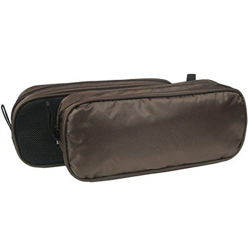 kilofly Universal Kabel Organizer Travel Tasche, Nylon Mesh, Set von 2 - Kabel Womens Tie