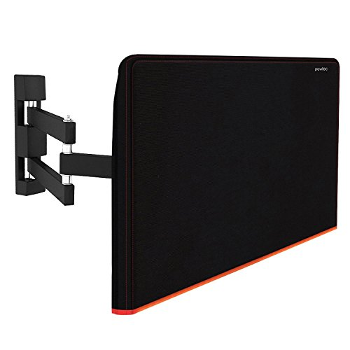 Pawtec Oreiller Écran plat TV pour résistance aux rayures Corps intégral en néoprène résistant à manches pour télévision, écran OLED, écran LCD, LED et Plasma Protection d'écran (Oreiller)