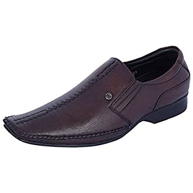 Merino Canto Men's Formal Leather Shoes (Brown)
