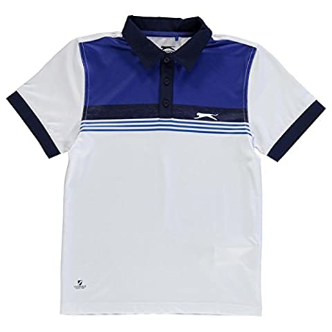 Polo Slazenger - Slazenger Enfant Garçon Golf Imprimé Junior Polo