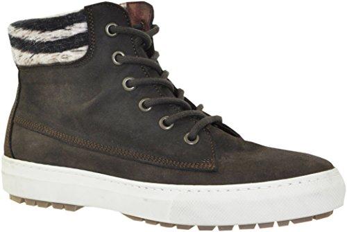 JJ Footwear Damen Schuh Leder Maputo Normal Espresso Wax Nubuck