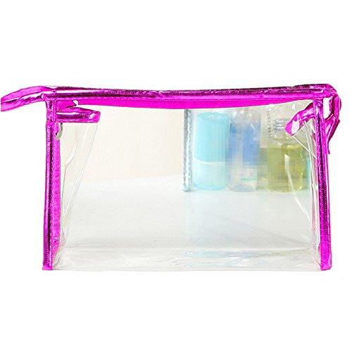 Vi.yo PVC sac cosmétique en plastique maquillage transparent sac clé sac de rangement des accessoires pour femmes dames (style 4)
