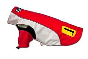 Karlie Touchdog Dog Coat Outdoor Front Legs, 40 x 50 x 36 cm, Large, Red
