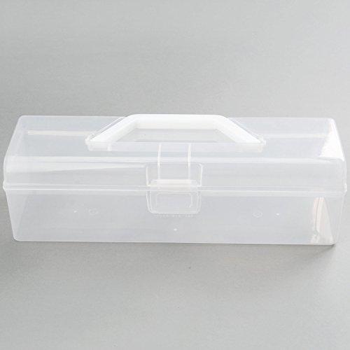 1pc tragbare Kunststoff Aufbewahrungsbox Küche Besteck Essstäbchen