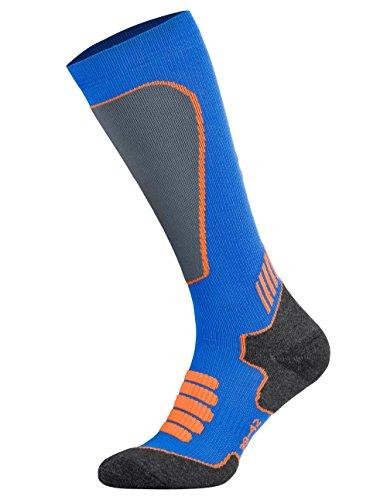 Tobeni Sport Calcetines de Compresion Biking- Running- Skiing- Calcetines para Mujer y Hombre Color Royal Tamano 43-46