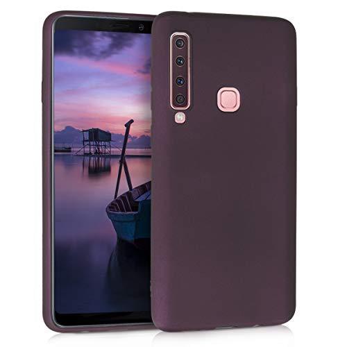 kwmobile Samsung Galaxy A9 (2018) Hülle - Handyhülle für Samsung Galaxy A9 (2018) - Handy Case in Metallic Brombeere