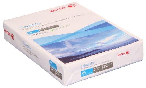 Xerox 003R94661 Colotech mit Premium Farblaserpapier, Druckerpapier, Farbkopierpapier, Din A4, 200...