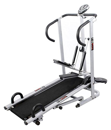 Lifeline 4 In 1 Manual Treadmill  available at amazon for Rs.9690