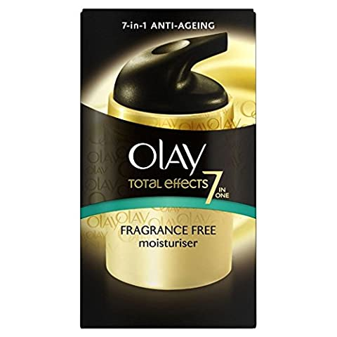 Olay Total Effects 7-in-1 Anti Ageing Night Moisturiser Fragrance Free (50ml) - Pack of 6