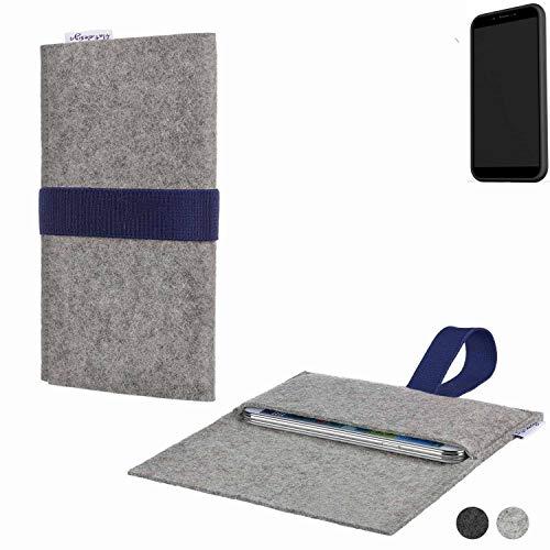 flat.design Handy Hülle Aveiro für Shift Shift6mq passgenaue Filz Tasche Case Sleeve Made in Germany