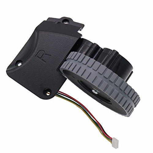 Louu Aspirador Robot Accesorios Piezas para Ilife A4 A4s Ruedas Robot Motores Aspiradora (Rueda derecha)