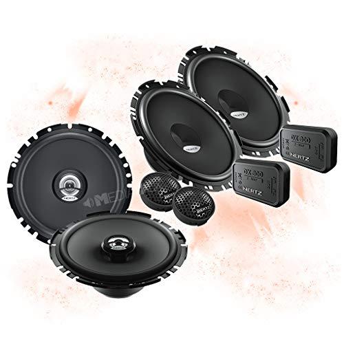 Hertz Front/Heck 16,5cm/165mm Auto Lautsprecher/Boxen/Speaker Komplett-Set kompatibel für VW Volkswagen
