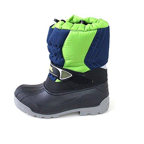 Meindl Snowy 3000 7795 003 grau/schwarz Grün/Blau