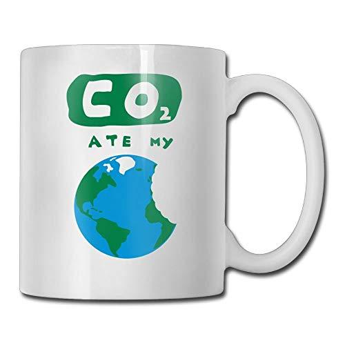 Co2 Ate My Earth Custom Coffee Mug 11 Oz Kids Birthday