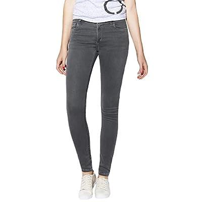 adidas NEO Womens Super Skinny Denim Jeans - Grey
