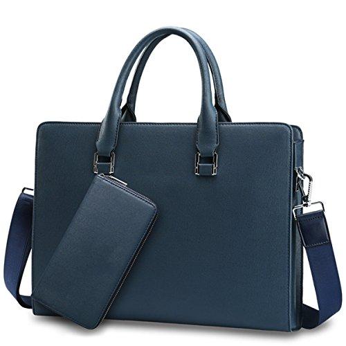 Geschäftstasche Feine Mann-Beutel-Geschäftsmann-Beutel-Handtaschen-Aktenkoffer-Aktenkoffer-Mann-Beutel-Beutel-Computer-Beutel Blue