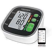 Soehnle Systo Monitor Connect 300 - Tensiómetro de brazo, Bluetooth, pantalla LCD, sensor