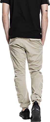 Urban Classics Herren Sporthose Stretch Jogging Pants Beige (Sand 208)