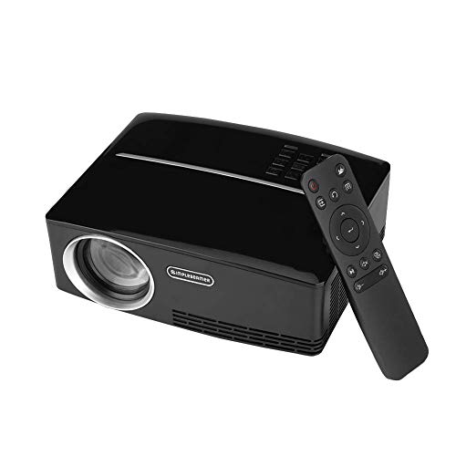 Projector Mini Portable, 4K x 2K Ultra HD HDMI Media Player Video Projektor für Home Cinema Theater Indoor/Outdoor Entertainment Games Parties Parties Camping