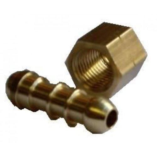 Fascette di serraggio per tubi regolabili 10 pezzi in acciaio INOX 6-114 mm